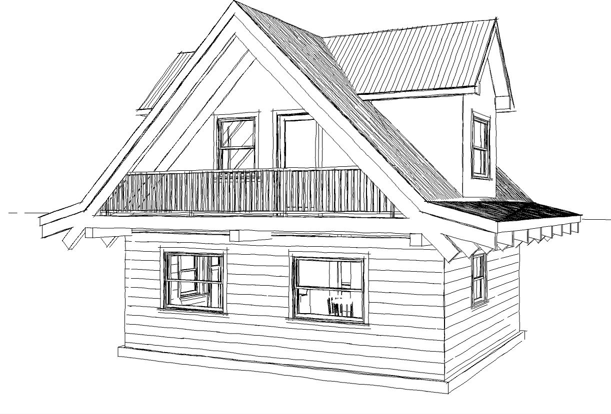 Drawing-of-480-sqft-log-cabin